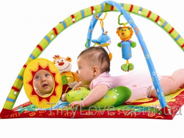 Коврик с дугами для малыша