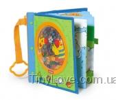 Мягкая развивающая 3D книжка (Activity Book, Tiny Love)