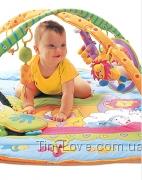 Развивающий коврик с дугами ЗООСАД для новорожденного