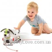 щенок долматинец Домино ходящая игрушка