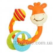 погремушка-прорезыватель Жираф