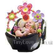 Крошка Бетти. Розовая дуга на коляску для девочки УЦЕНКА
